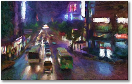Shanghai Night Oil