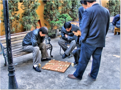 Chess Players HDR