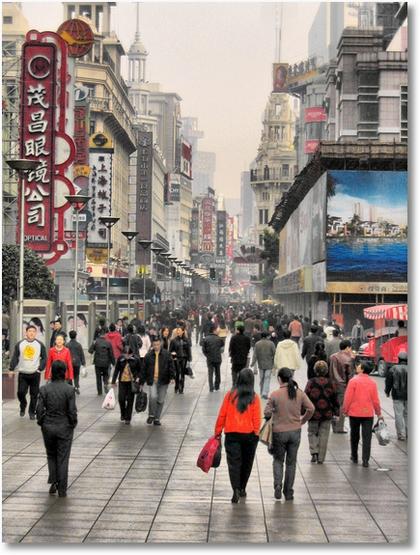 Street Scene HDR