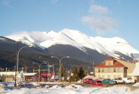 Hudson Bay Mt at Smithers